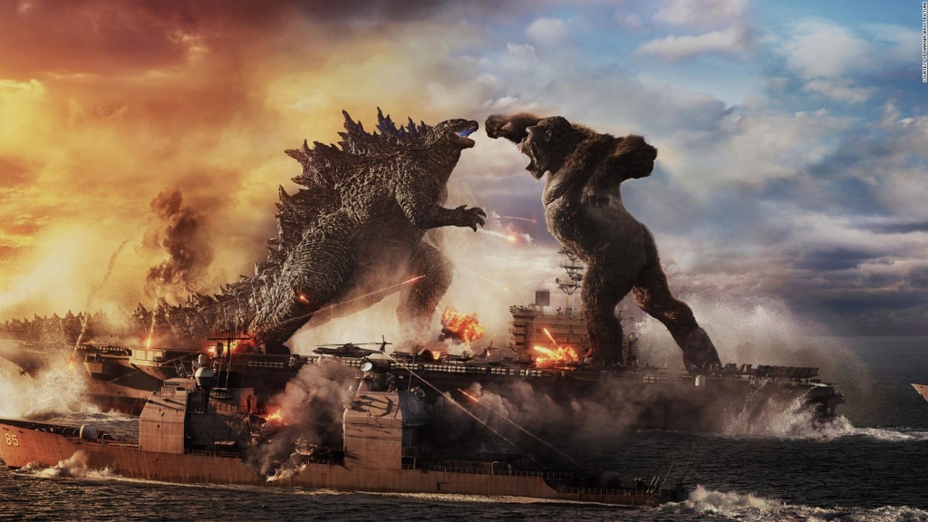 """Godzilla vs.  Kong"" wins at the box office during pandemic"