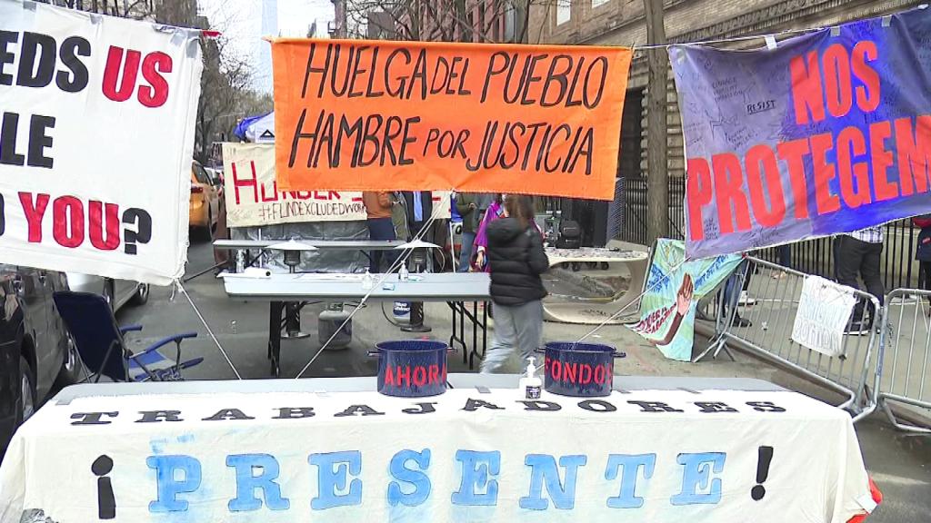 Inmigrantes en Nueva York piden igualdad en ayudas
