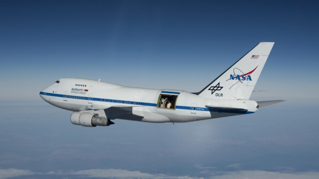 NASA Atmospheric Observatory measures atomic oxygen in the atmosphere