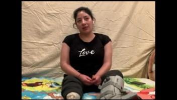 Migrante pierde pierna tras ser lanzada de valla fronteriza