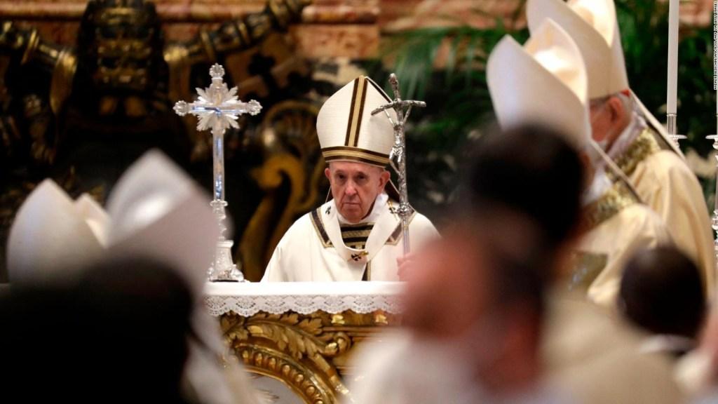 Semana Santa atípica para el papa Francisco
