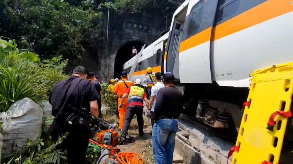Un auto habría causado el accidente en Taiwán