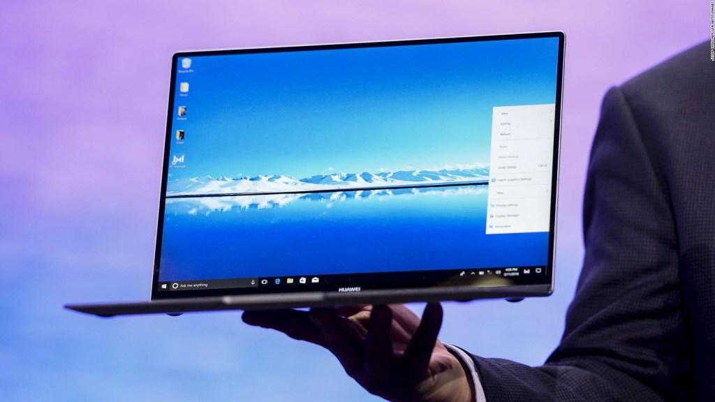Huawei apuesta por computadoras portátiles y tablets