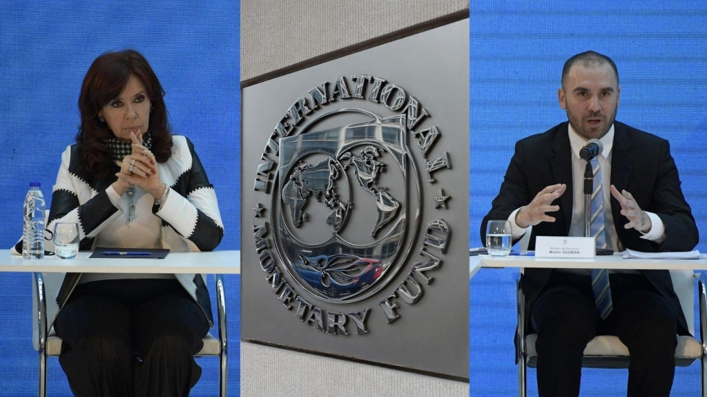 Guzmán's vision of what Cristina Kirchner said about the IMF