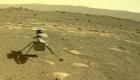 El helicóptero Ingenuity pisa el suelo de Marte
