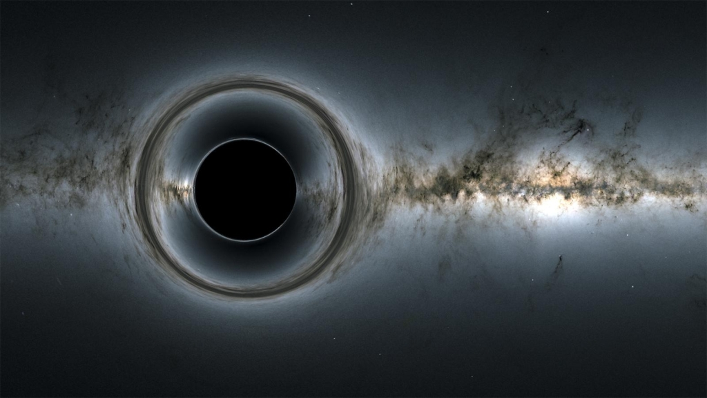 A strange black hole in the eyes of astronomers