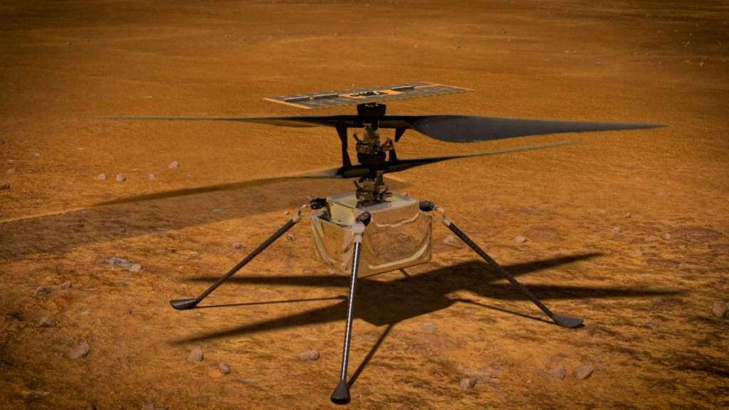Así es como se ve el rover Perseverance desde el aire