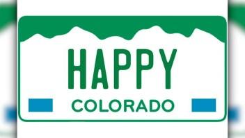 Colorado subasta placas de autos con temas de marihuana