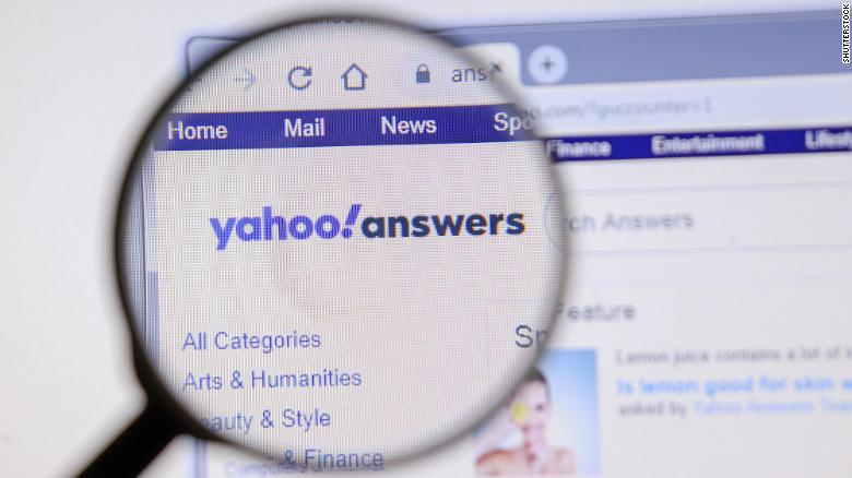 Yahoo Respuestas eliminada