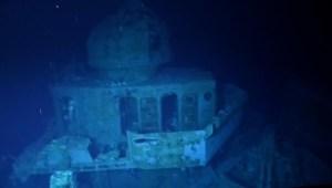 Exploran barco hundido en la Segunda Guerra Mundial