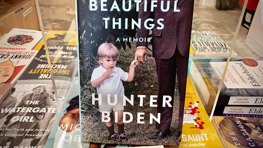 "Hunter Biden promociona su libro ""Beautiful Things"""