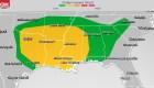 Nueva amenaza de tornados en el sur de EE.UU.