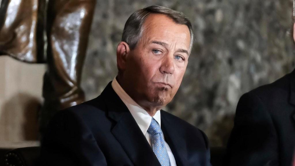 John Boehner: Tenemos un gran país y debemos aceptar eso