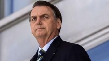 Polémica reacción de Bolsonaro