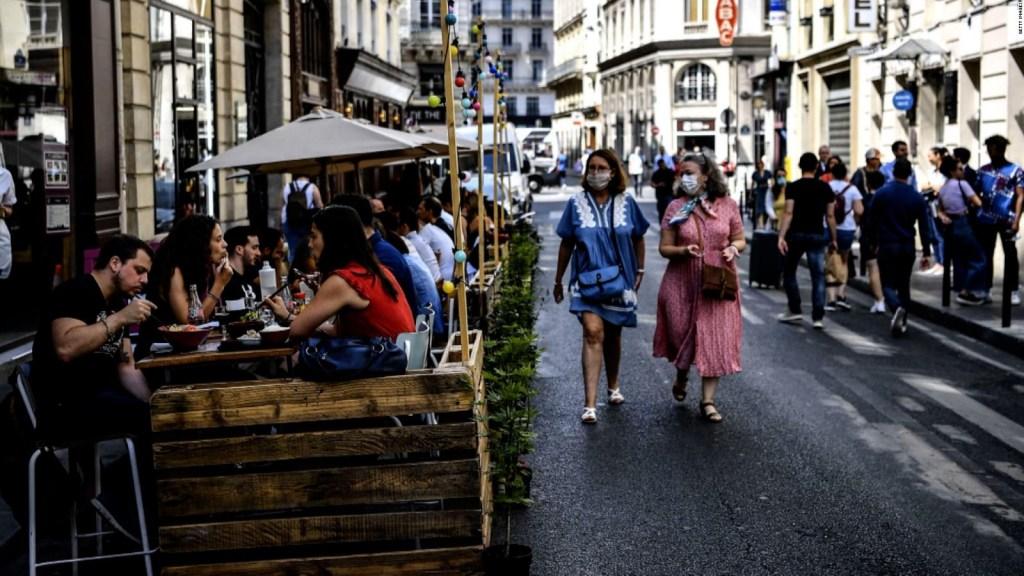 Sanciones a clientes y restaurantes de parís