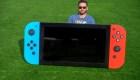Un Nintendo Switch gigante para buena causa