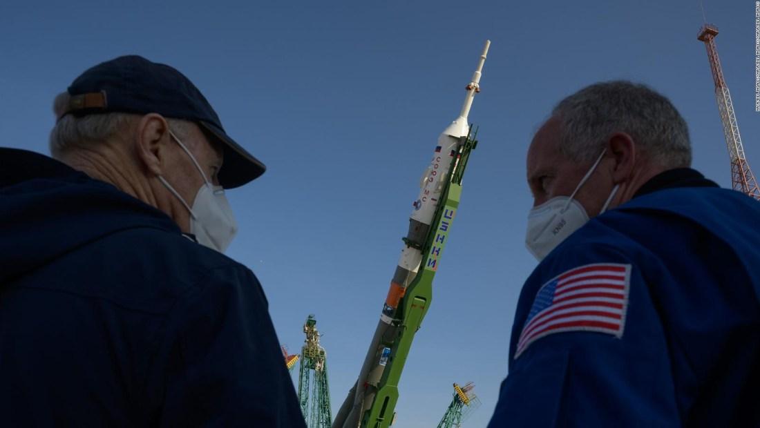 El Soyuz está listo para llevar 3 astronautas al espacio