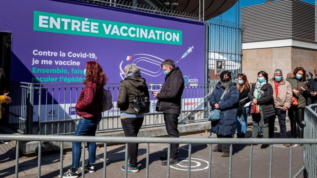 Convierten el Stade de France en centro de vacunación