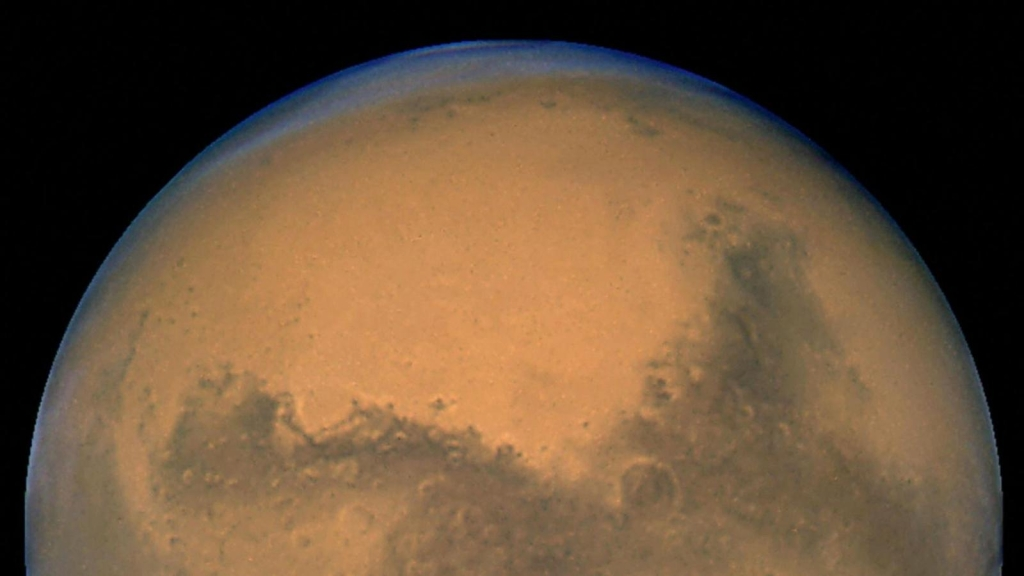 What is the time of dawn on Mars?