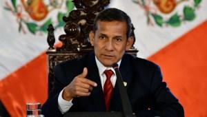 """Humala: """"Soy la mejor opción para ganarle a la pandemia"""""""