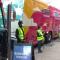 Vacuna de covid-19 llegan en autobús a barrios de Nueva York