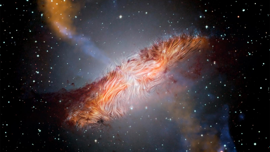 Best place this week: 2 galaxies are collapsing