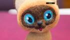 The stuffed cat, valuable companion to astronauts