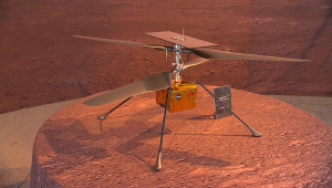 Ingenuity, primer vuelo en Marte