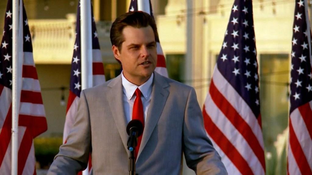 Conoce quién es el congresista republicano Matt Gaetz