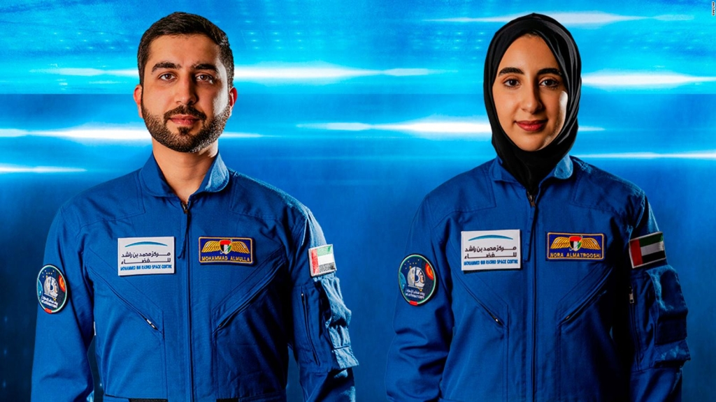 Astronaut from the United Arab Emirates makes history