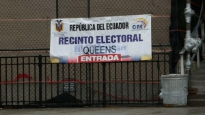 Ecuador: así fue la jornada electoral en Nueva York