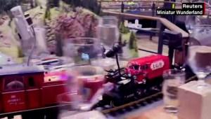 Este tren en miniatura logró un récord mundial Guinness