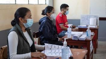 Los resultados del escrutinio en Perú