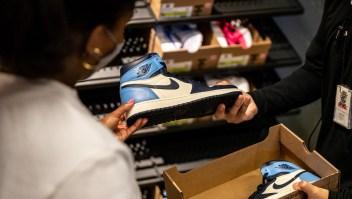 Nike quiere revender zapatos usados en algunas tiendas