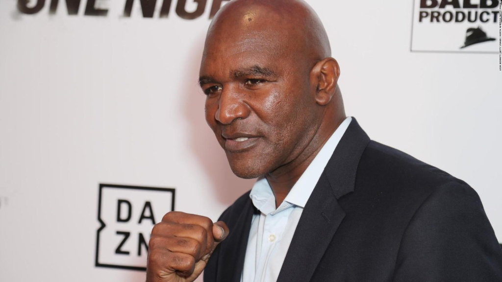 Legendary Evander Holyfield enlists to return