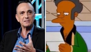 """Voz de Apu en """"Los Simpson"""" siente que debe disculparse"""