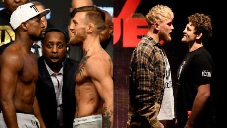 5 grandes peleas entre el boxeo y las artes marciales mixtas