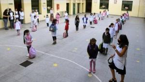 Las escuelas en Argentina, frente a la segunda ola