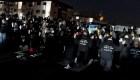 El recuerdo a George Floyd en las protestas por Writght