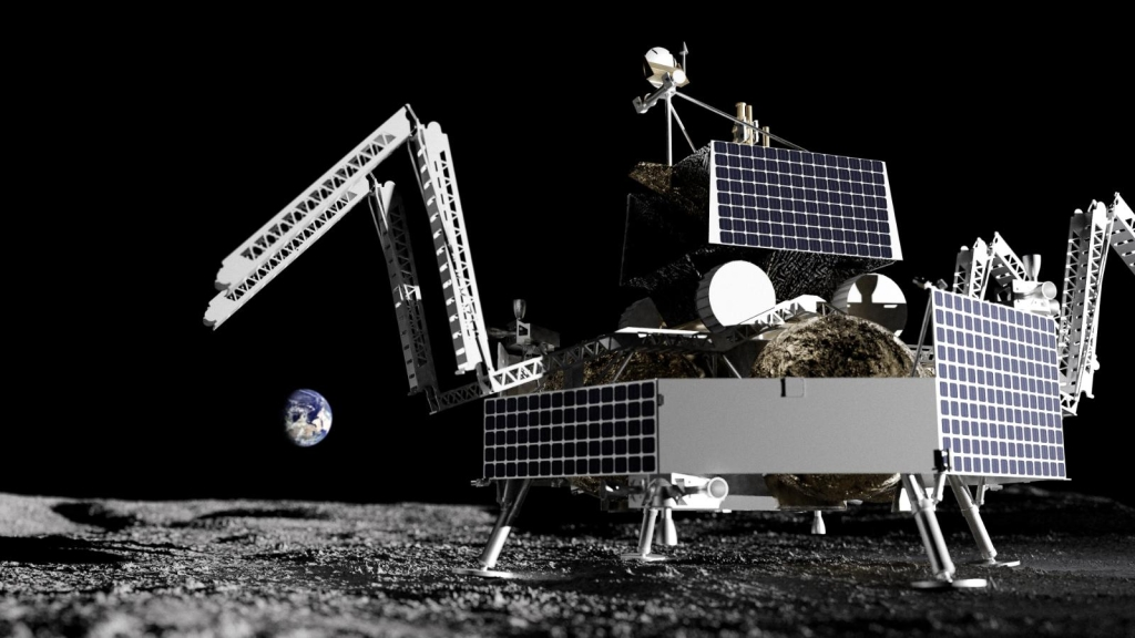 SpaceX will take NASA in search of lunar water
