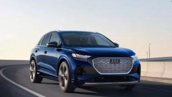 Audi presenta su nuevo auto eléctrico