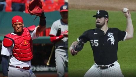 Grandes Ligas: los notables logros de Yadier Molina y Carlos Rodón