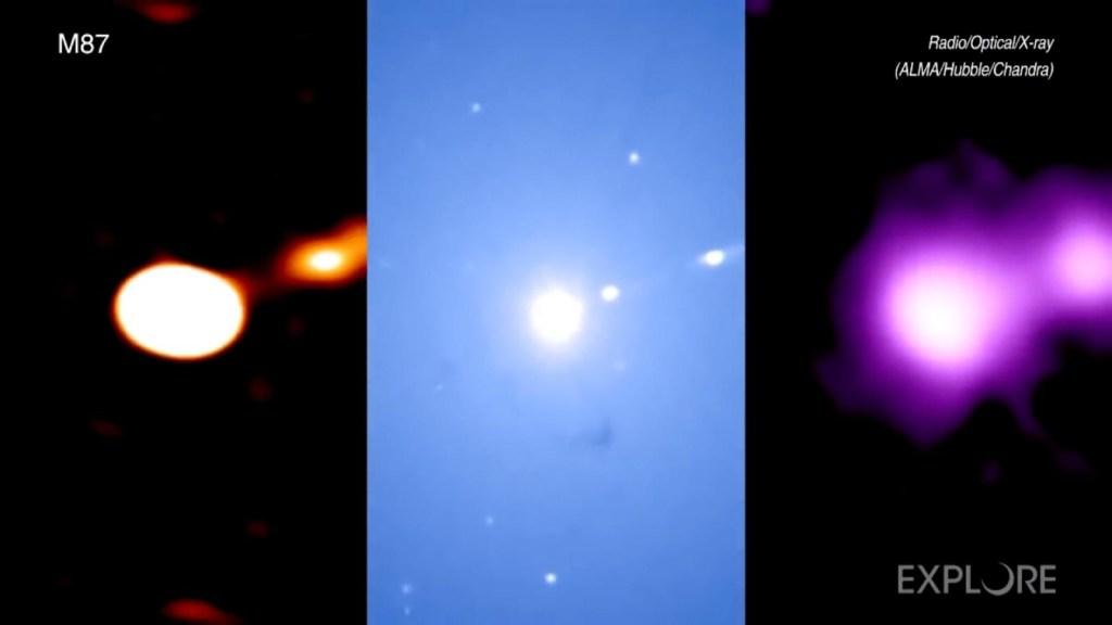 Mira cómo se logró la primera foto de un agujero negro