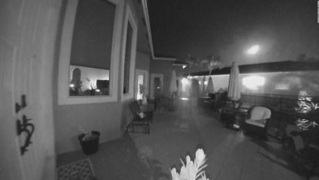 Video capta un meteorito cayendo en Florida