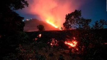 Alerta por erupciones del volcán de Pacaya