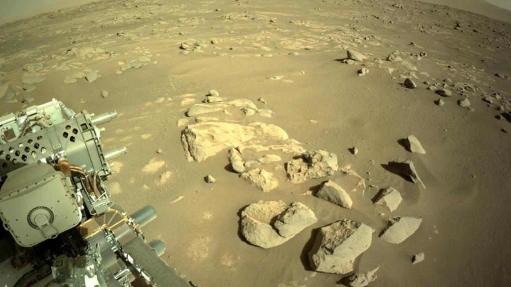 ¿Cuánta distancia ha recorrido el Perseverance en Marte?