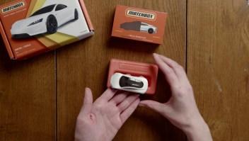 Mini Tesla ecológico para concientizar a los niños