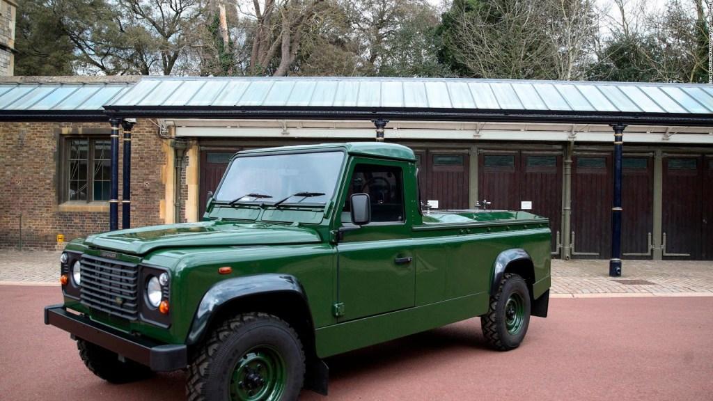 El último viaje de Felipe en un Land Rover
