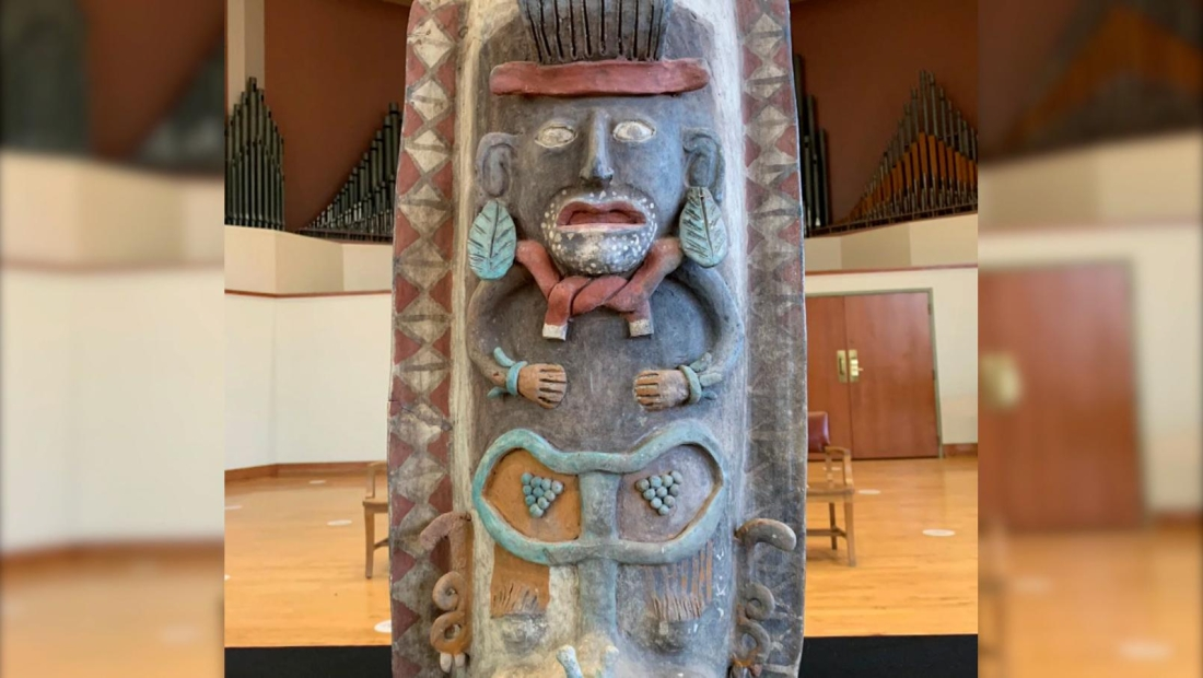Mira esta espectacular urna maya que regresará a México