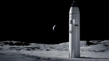 SpaceX gana contrato con la NASA para llevar humanos a la Luna